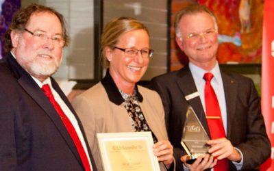 Birgit Heinzel wurde Unternehmerin des Jahres 2012